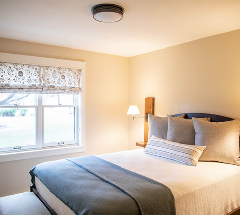 Contemporary Ranch Remodel Guest Room
