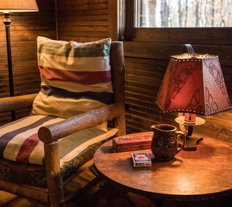 Vintage Cabin Chair