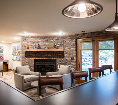 Contemporary Ranch Remodel