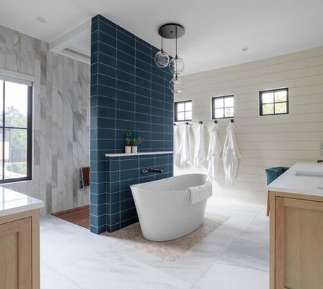 Contemporary farmhouse Master Bath