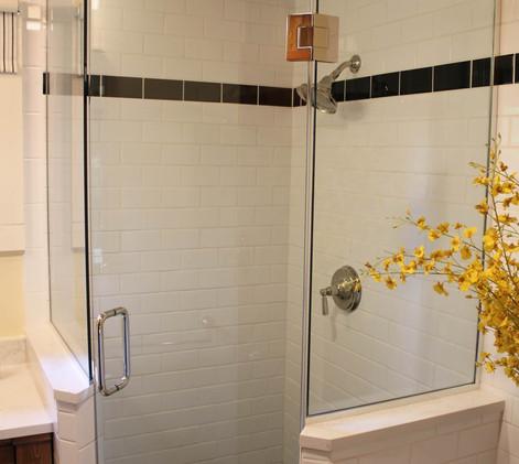 Vintage Cabin Remodel Bathroom Shower