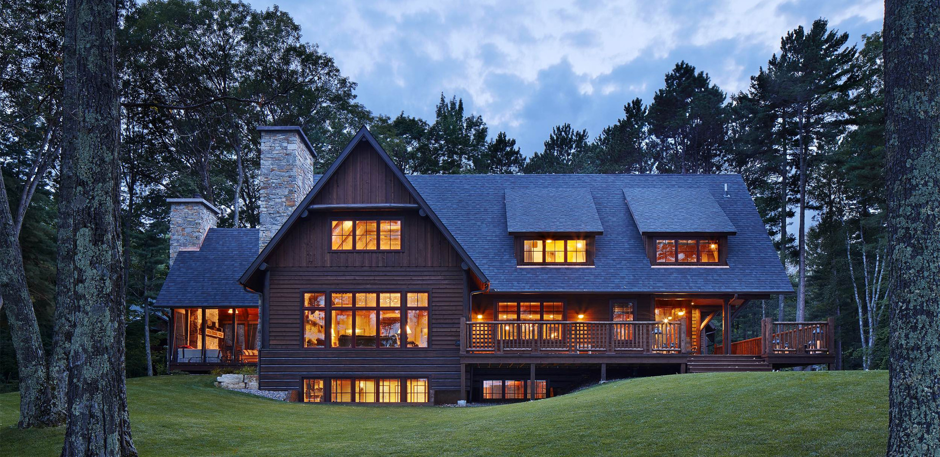Traditional Wisconsin Lake Front Home