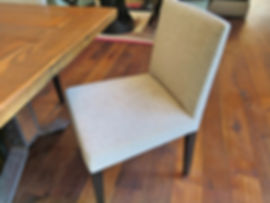 Nathan Anthony slim line contemporary dining chair