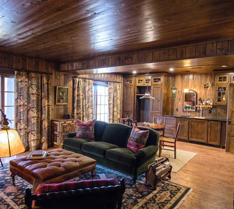 Vintage Cabin Lower Level Remodel