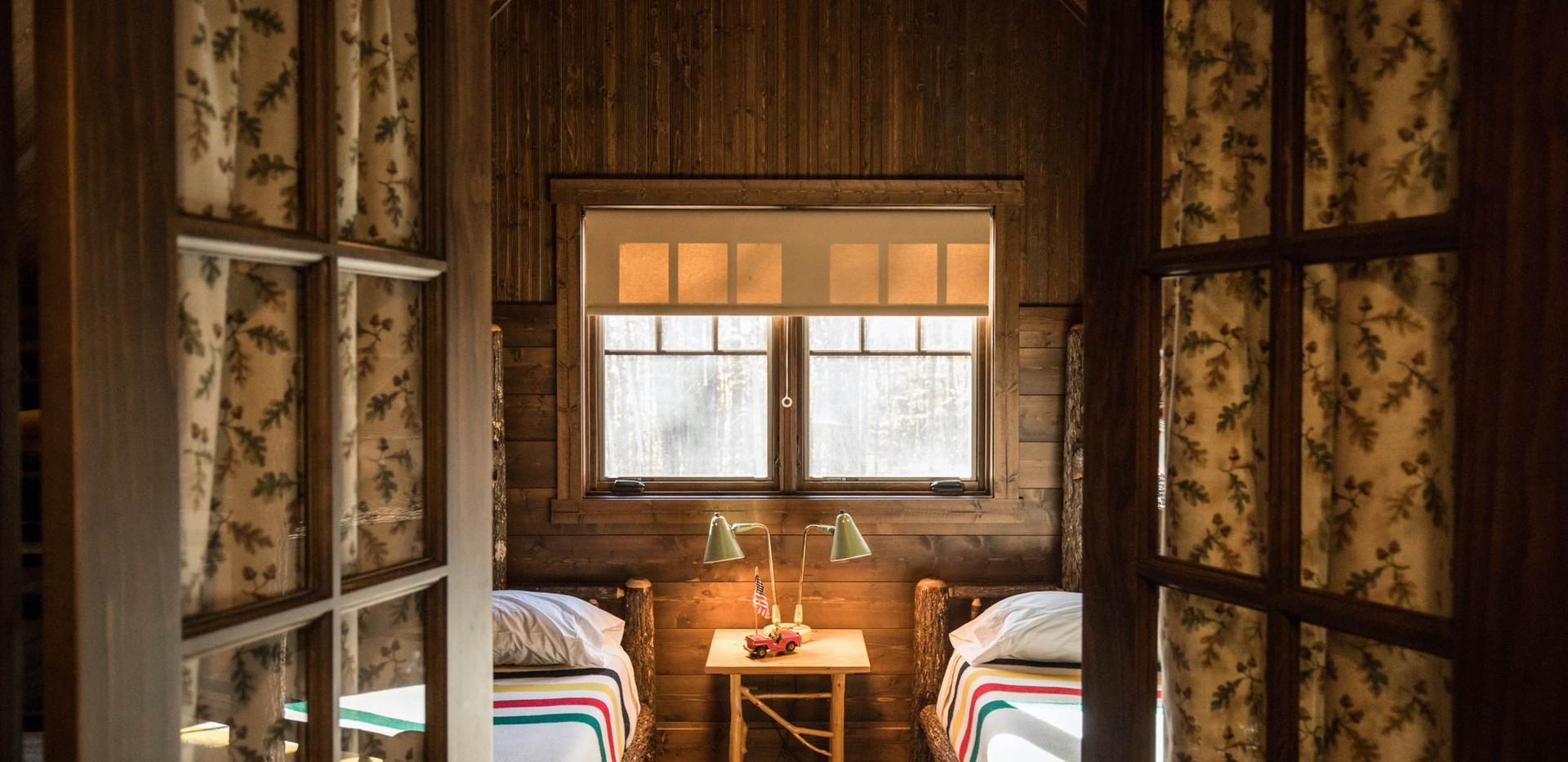 Vintage Cabin Hickory Bunkroom