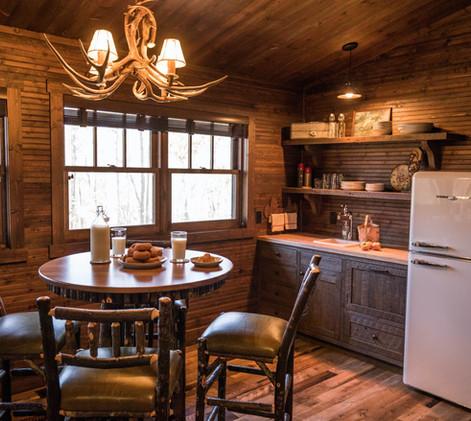 Vintage Cabin Kitchenette