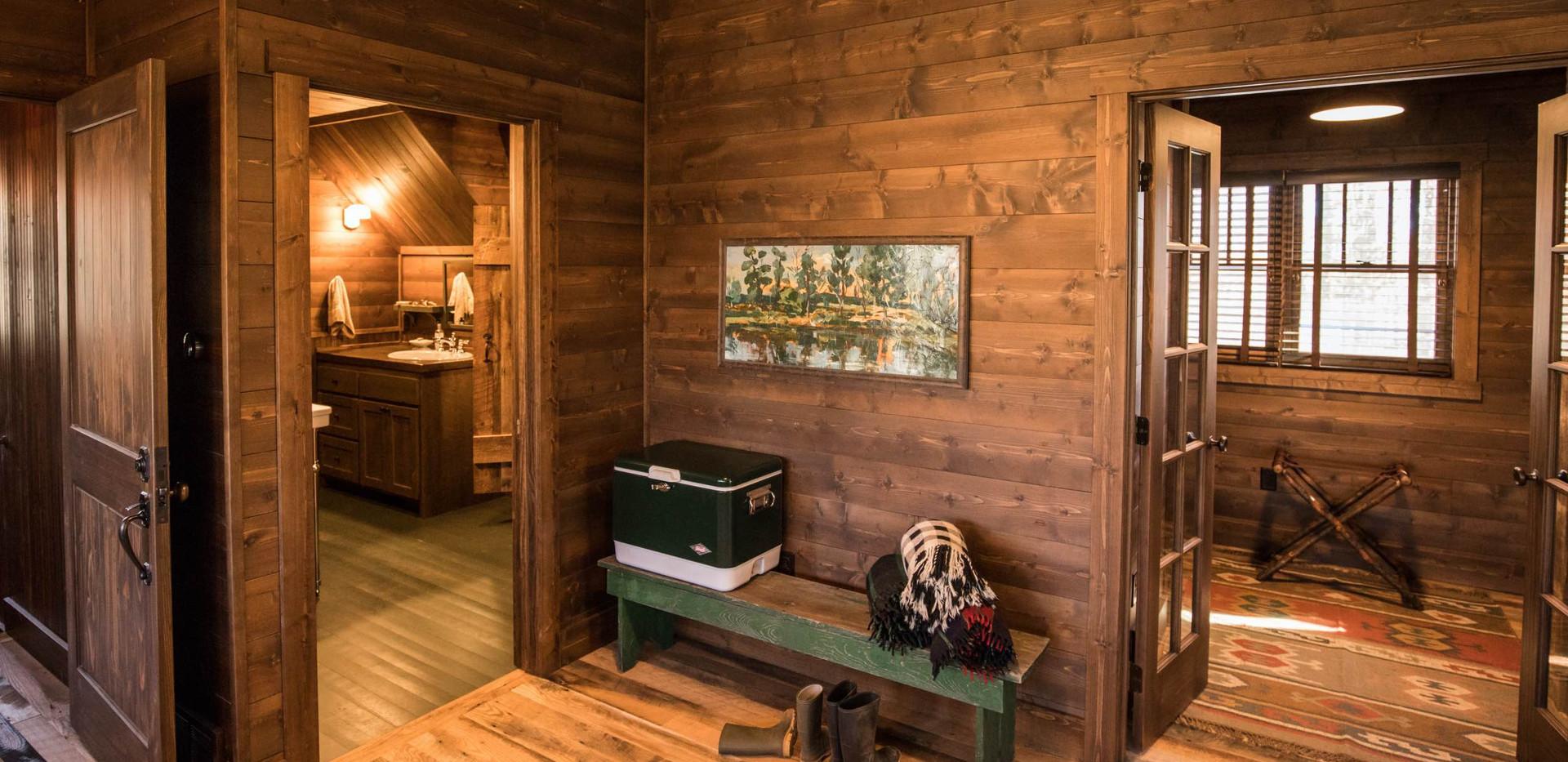 Vintage Cabin Entry