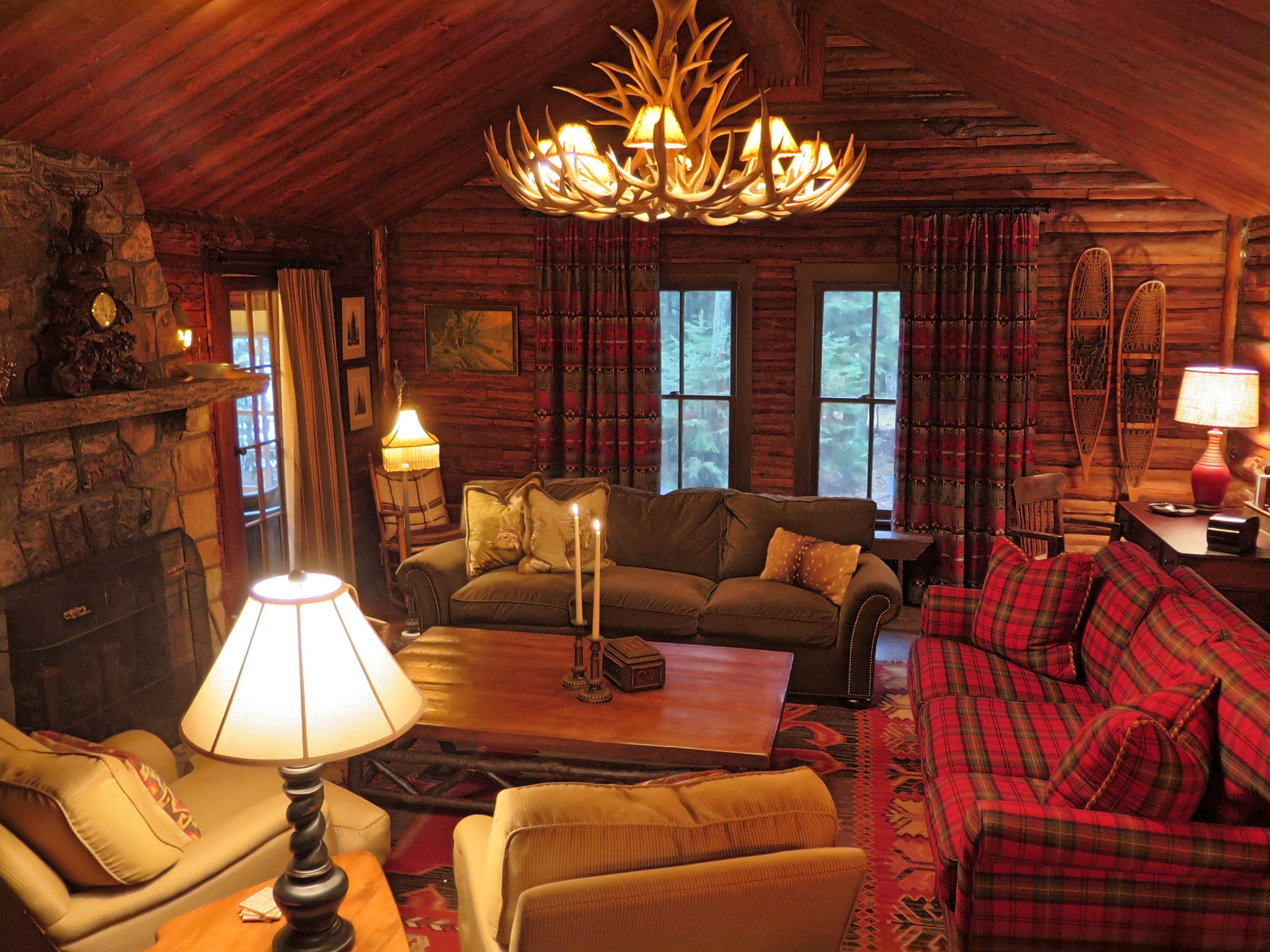 Spider Lake Trading Interior Design Of Colorado And Wisconsin -  cabin living room furniture