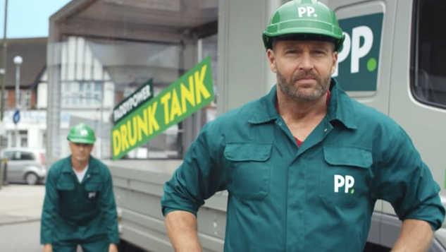PADDY POWER 'Drunk Tank'