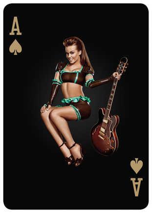 DURATRAN Guitar Girl