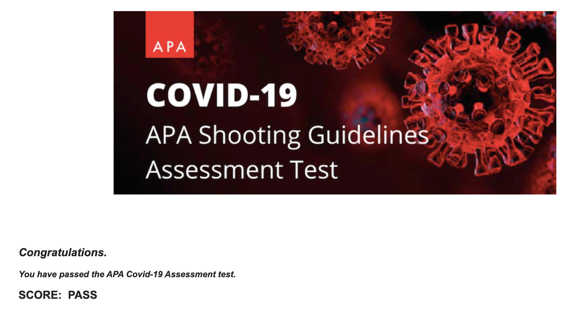 APA Covid-19
