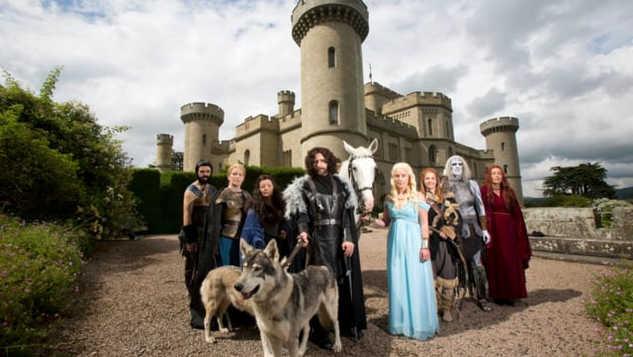 BLINK BOX 'Game of Thrones Fan Wedding'