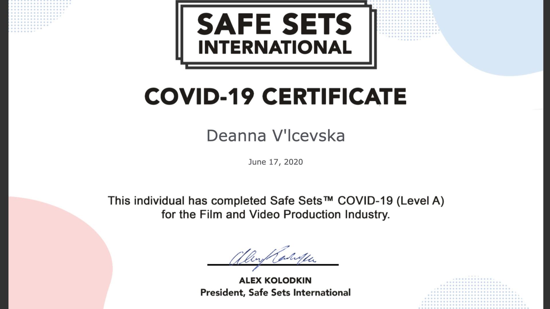 Safe Set International