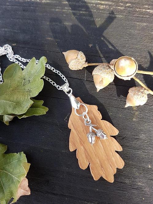 Earth Mother Oak Necklace