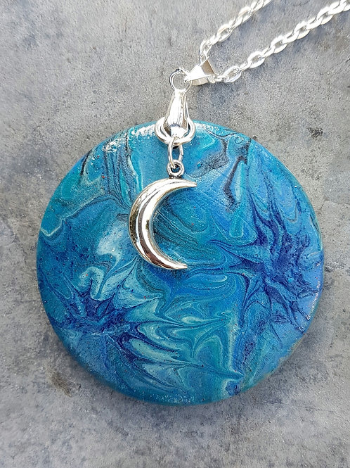Blue Supernova Pendant