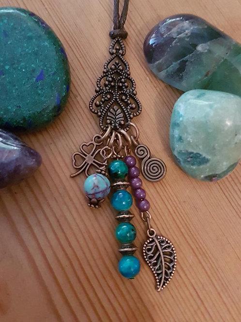 Sensuous Boho Celtic Goddess Necklace