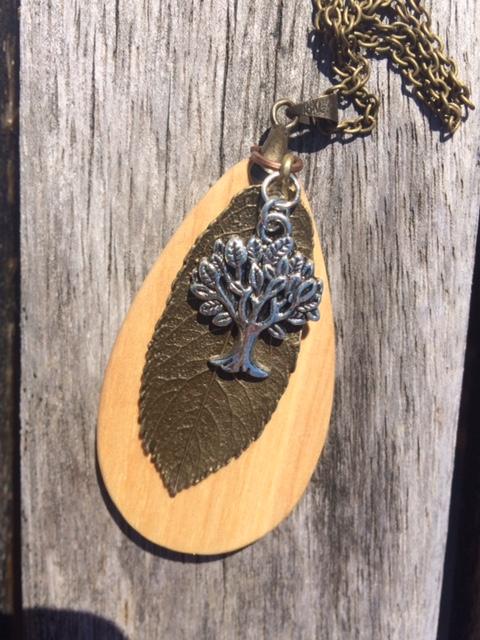 Beech Wood Pendant