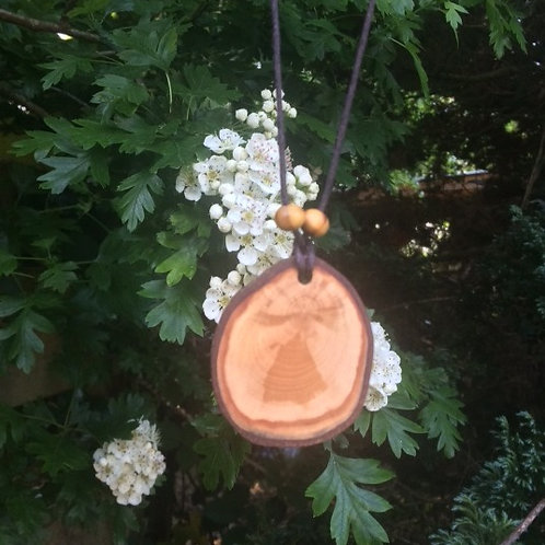 Beautiful and Natural Irish Hawthorn Pendant