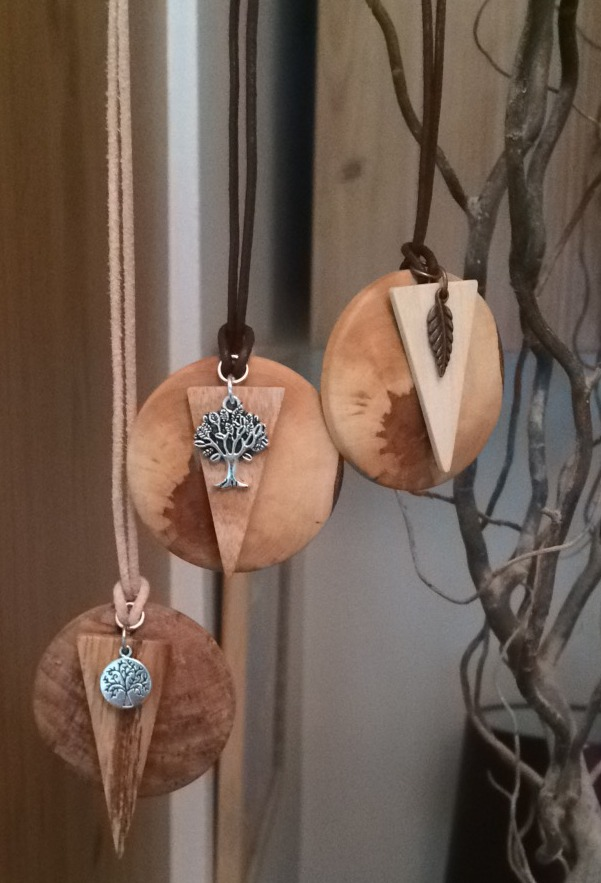 Irish Wood Pendants