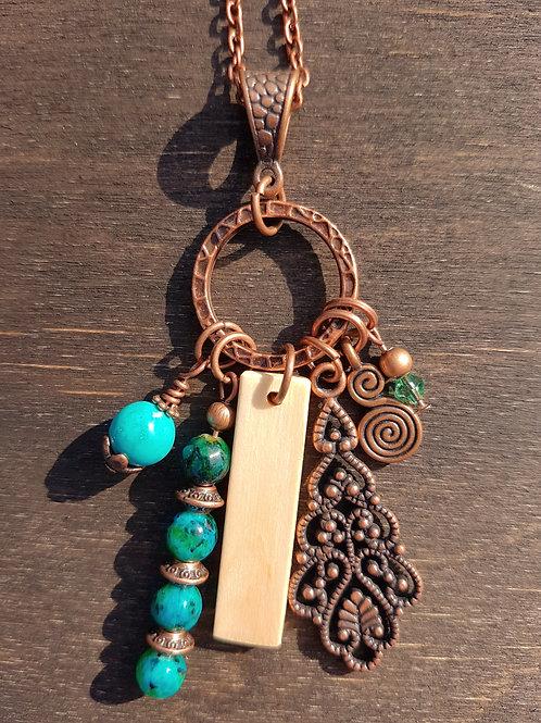 Irish Rowan Birthwood Charm Necklace January 21st - February 17th