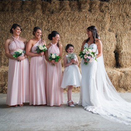 Gorgeous Hayley and her beautiful Brides