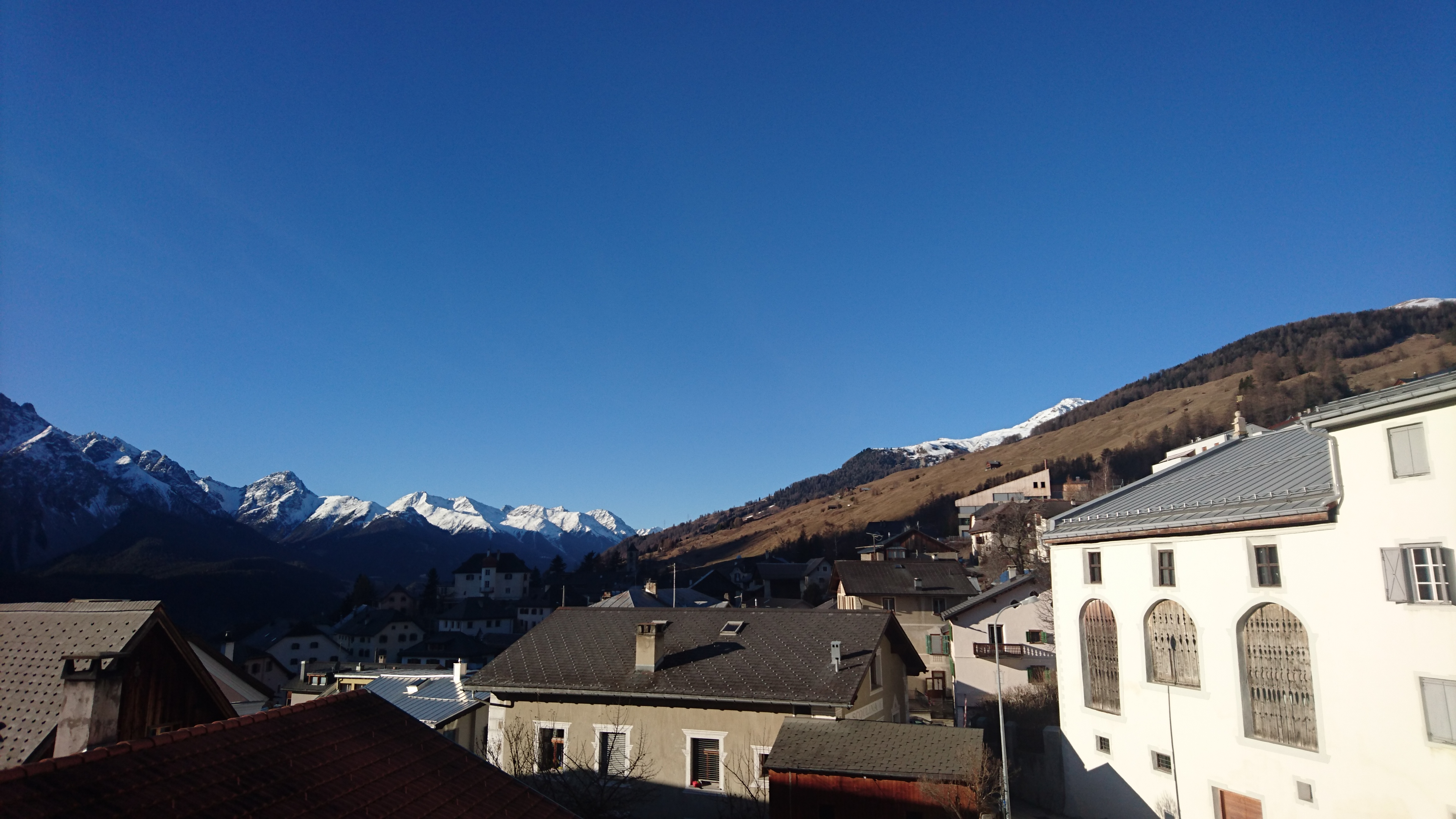 Blick Richtung Scuol