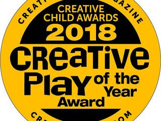 2018年度クリエイティブ・チャイルド・アワードを受賞!