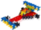 知育ブロック(玩具)インカストロで作るF1カー