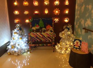 淀川キリスト教病院ホスピスさんでクリスマスの飾りつけ(^^)