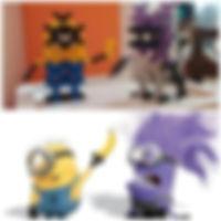知育ブロック(玩具)インカストロで作るキャラクター