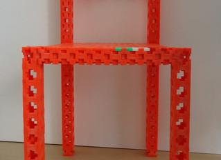 こんなのも作れるよ(^^)椅子!