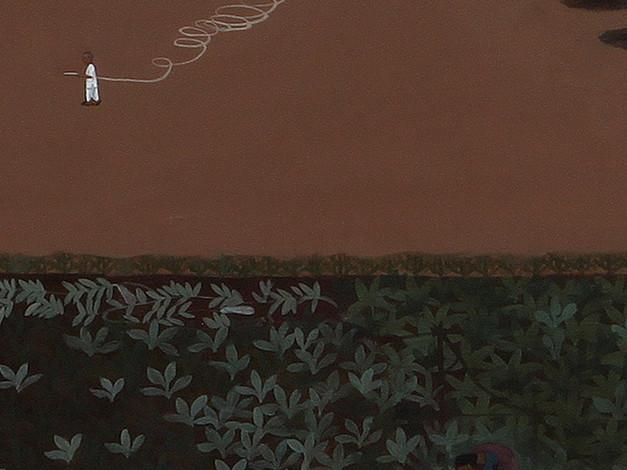 Growing (Workers in a field) - detail 2