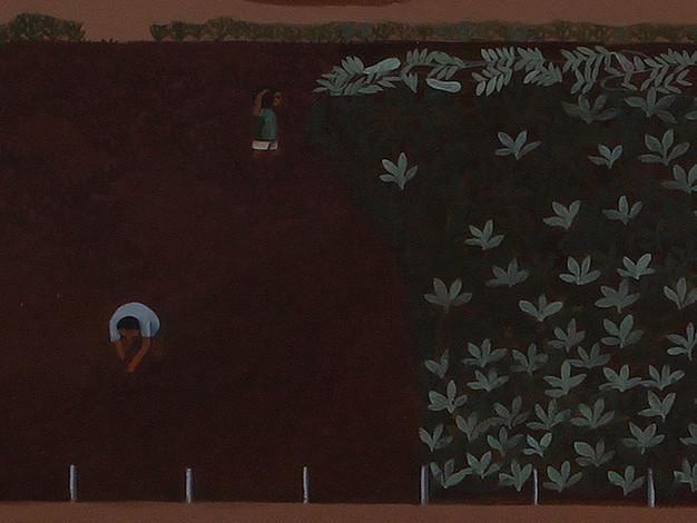 Growing (Workers in a field) - detail 1