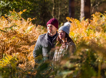 Mary & Carl - Delamere Engagement Shoot