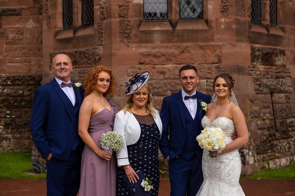 Cheshire Wedding Photographer, Peckforton castle