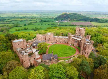 Peckforton Castle, Victoria & Chris