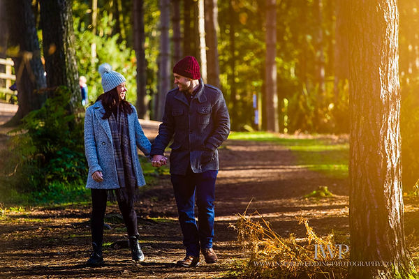 Delamere forest couples soot, engagment