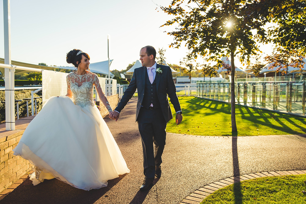 Chester Racecourse Wedding Photography