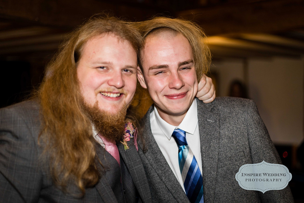 Best men can also be used as a wig. North West wedding photographer