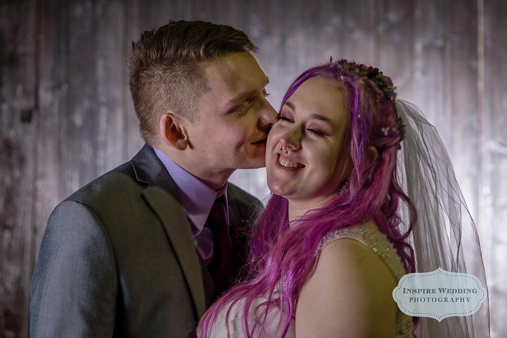 Couples portrait, Cheshire wedding photographer