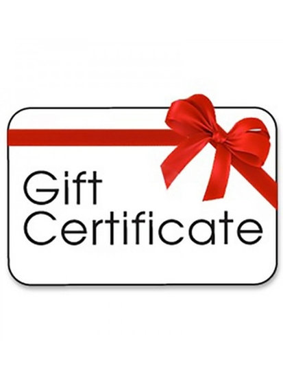 Gift Certificate for Burn Out Package