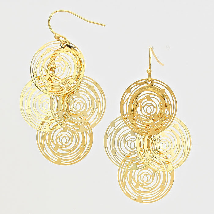 Fashionaubles Jewelry Collection | Fashionaubles Gold Round ...