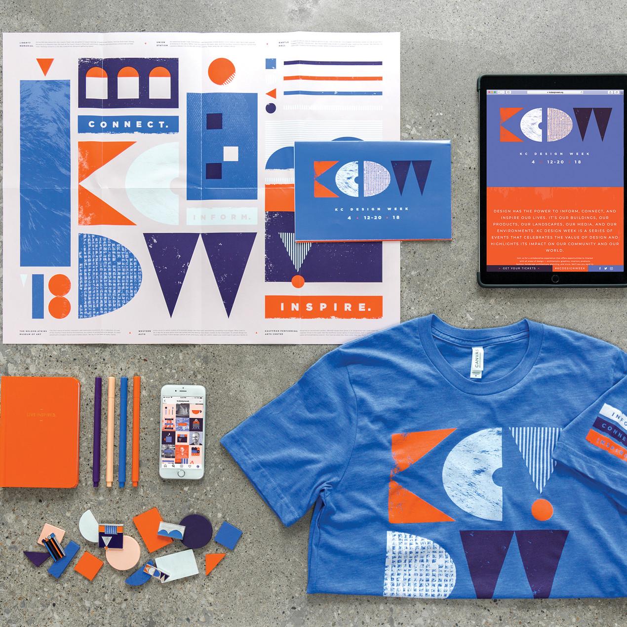 2018 Kansas City Design Week Brand Identity