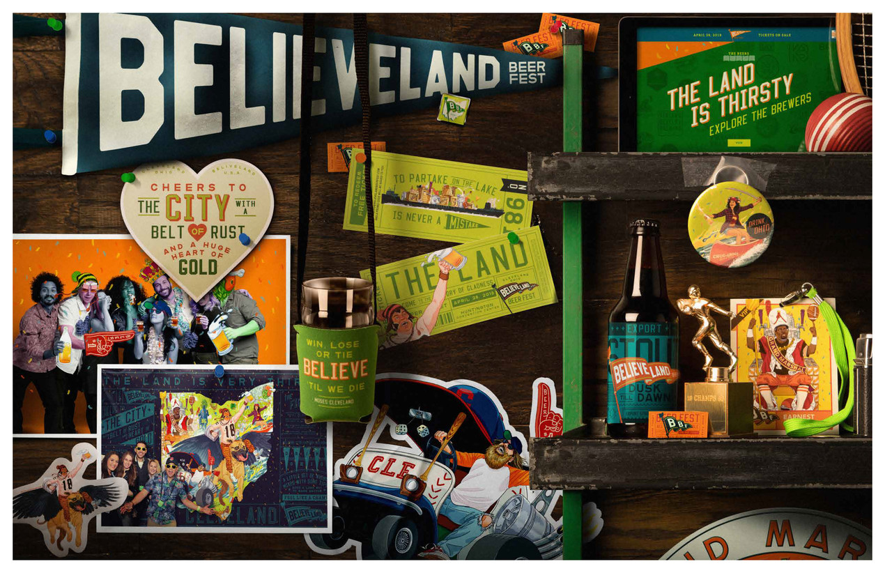 Believeland Beer Fest Campaign