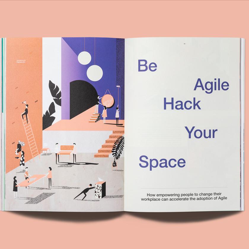 Steelcase 360 Agile Illustration