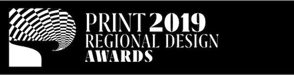Print 2019 Reegional design awards logo