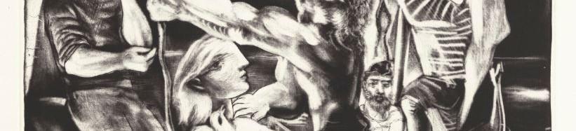 Grafisch werk van Picasso bij Christies.