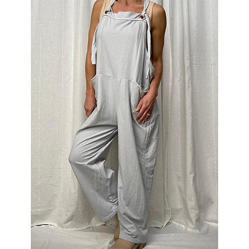 Dungarees - Silver