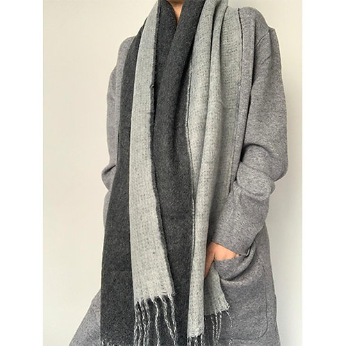 Blanket Scarf - Grey