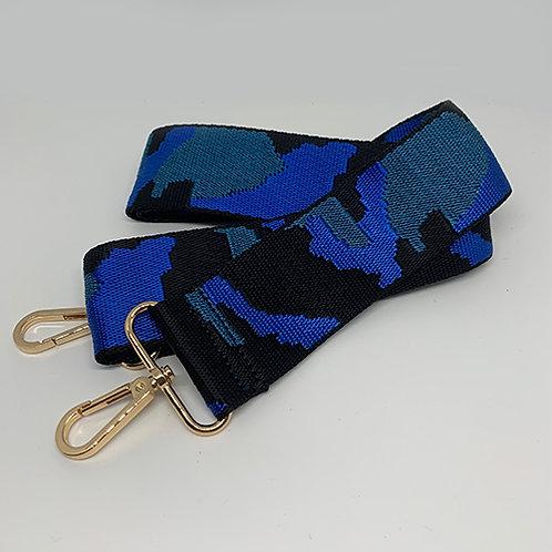 Shoulder Strap - Blue Camo